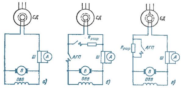 пуск синхронного двигателя - Практическая схемотехника.