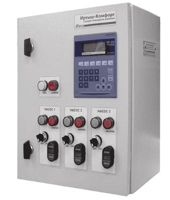 электрические схемы управления насосами