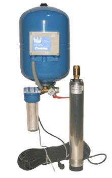 система автоматического водоснабжения дома