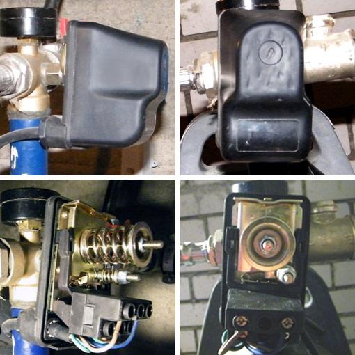 Настройку реле давления начинают с определения давления воздуха в пустом баке гидроаккумулятора и при отключенной от...