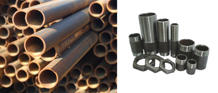 Трубы и сгоны из черного металла