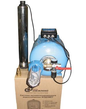 Погружная автоматическая система водоснабжения на базе насосов Водомёт