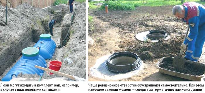 Люк для канализационного колодца своими руками 88