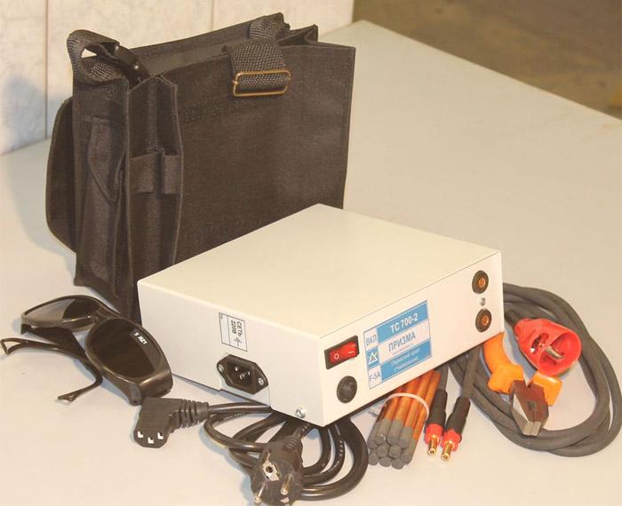 ТС 700-2 - специальный аппарат для сварки скруток проводов